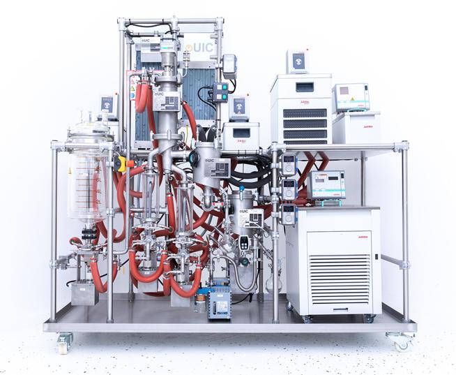Image of Distillation Machinery